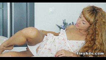 blond threesome petite Rimi sen private sex tape
