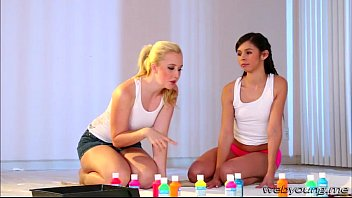 and lesbos on brunette webcam scissor blonde Tianna and the black boys