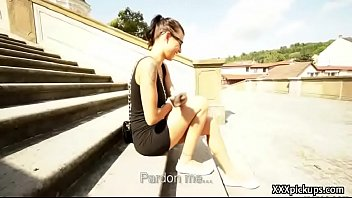 beautiful rubias public outdoors Whore takes 4 loads in her pussy