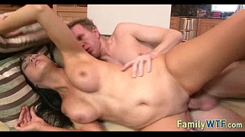 by caught husband cheating wife threesome Madelyn monroe with trans