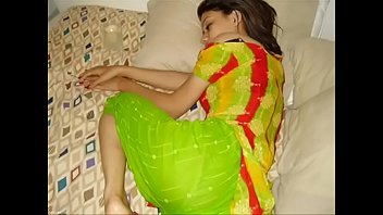 removing saree indian girl Old man gropes
