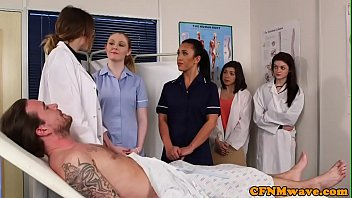 nurses rain misty nightshift Hairy chested man