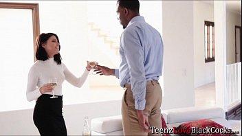by artist model seduced his White girl cheating black