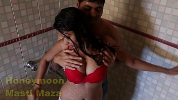 anty sari big boobs in indian Japanese front of husband
