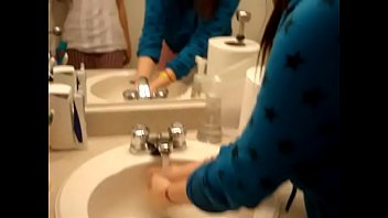 toilet chinese human My wife hot chudai