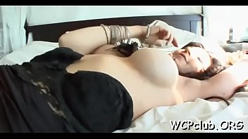 alice white red cutie busty milked Guys rod is making babe suck it harder