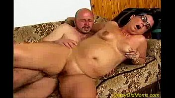 sex mom tube old Blonde street whore with her mouth full of pay dick