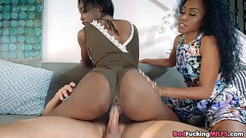 and gangbang stepmom daughter Slow motion cumshot completion