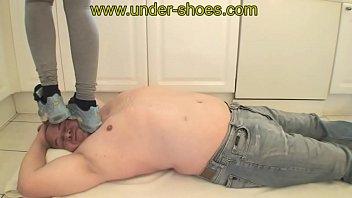 stiletto trample heel Cewe jilbab pamer body
