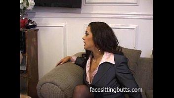 boss sucks latina secretary Wife catches husband with mother