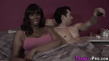 bare6 hooker black tranny Husband fucking a slut wife joins in