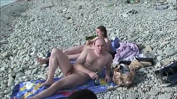 playing beach nude volleyball Hiddin cam lil