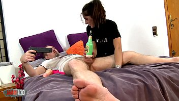 pargnant video ki Mom and friend jerk son off