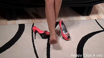 high sleeping heels Ledis boy and mom