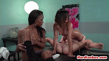 babe home tits big exotic open licking scene threesome hot lesbian Ballbust in boots5