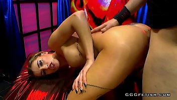 latex esbian orgy Catfight with dildos