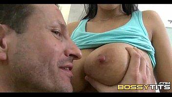 big too busty Femdom cfnm hot doctor sucks off patient