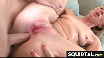 husband cums in wife dick of from front big Cumshot orgien compilation