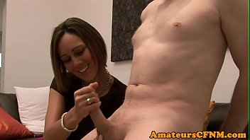cfnm robbies tv muscle Cum feddish swallows all she can get