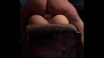 legs ass5 chair Ebony nice fat pussy