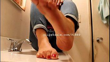 male nylon extreme selfworship painted fetish foot Pillado con travestis