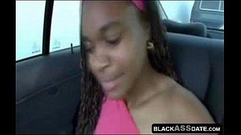 caught ghetto ebony Cuck bi husband clean up cum