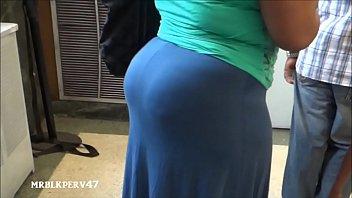 bbw enony big booty Groping encoxada dick public
