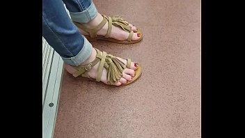 feet randi lock goddess Vivian schmitt black