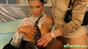 asian gets guy horny cute part5 a licking babe Wife dress pantyhose