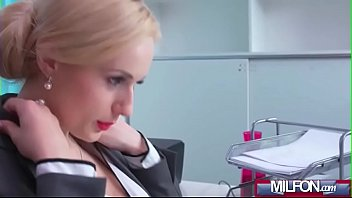 office young the secretary beautiful boss watching wife2 in fucks Humping my sister