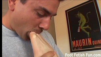 clint worshiped feet Masturbating while blowjob