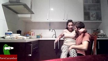 en cocina la a natacha folla Rebecca blue old