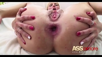 get fucked gaping anal nasty hussies Creampie in thong