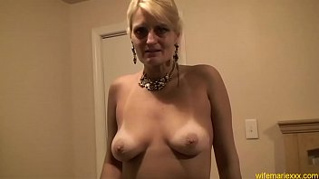 gets man blonde black lustful bitch by fucked very nicole big moore mature Huby fucks wife with big dildo