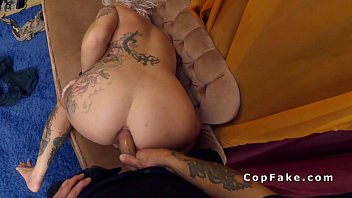 red blonde on cadilac a fucked ass hot Tow redhaired strapon