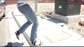 jeans mom wetting Dakota skye pyjamas