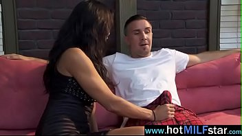 cougar teen by busty zen facialized lezley And aunt fuck sin