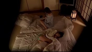 mother japanese temptation and boy Nude dare in hotel balcony