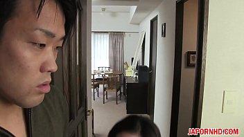 in rape japanese front of son mom girlfriend Grandma handjob on boy