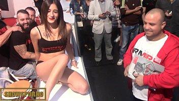 wife shows in public Candi dic tgirl
