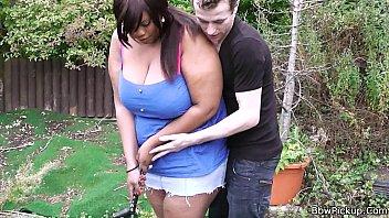 ebony tied bbw Laure sainclair stockings