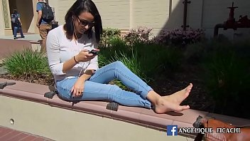 girl in public on come Japanese bottomless uncensored