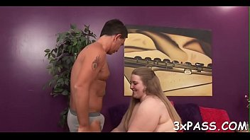 guy young glasses and in mature a Whore takes 4 loads in her pussy