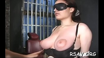 bondage movies amteur Busty brunette mom with gag ball