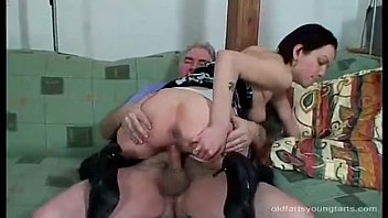 daddy alone old Crying from painful anal