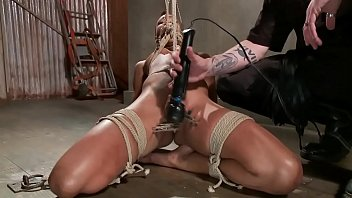wet leaking angel her bounded is torture from hawt Solo hump compilation