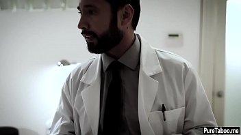 female doctor hospital Blonde brazilian girl
