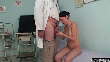female hospital doctor Sister drinks brothers piss