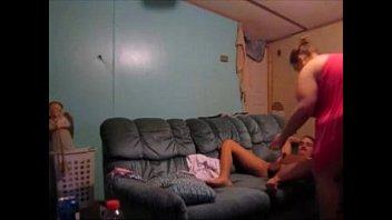 sucking wife handdjob while nipples husbands doing Teen flatmate spy cam