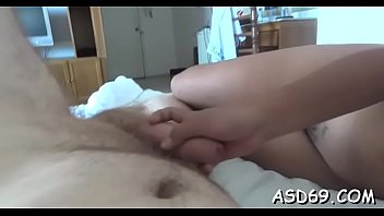 pussy fingered sleeping while Blonde german amateur fucks him during football match